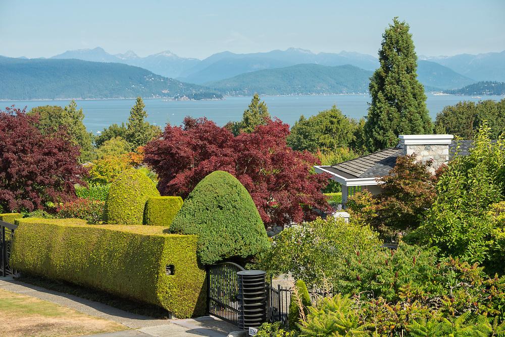 Canada, British Columbia, Vancouver ,English Bay, University Peninsula, private home ,