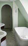 A luxurious bathroom at the Carolina Inn.