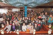 Rencontre des diffuseurs invités avec les membres de l'Association québécoise des marionnettistes (AQM) durant le 14e Festival de Casteliers 2019, Marionnettes pour adultes et enfants. -  Salon Thalia – Trylon / Montréal / Canada / 2019-03-08, © Photo Marc Gibert / adecom.ca