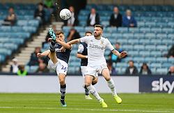 Jayson Molumby of Millwall hooks the ball over his head - Mandatory by-line: Arron Gent/JMP - 05/10/2019 - FOOTBALL - The Den - London, England - Millwall v Leeds United - Sky Bet Championship