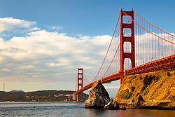 """Golden Gate Bridge 6"" - Photograph of San Francisco's famous Golden Gate Bridge shot in the early morning."