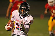 Washington's Carl Sivels (25) runs 42 yards for a touchdown during their game at Thomas Park Field in Marion on Friday, September 20, 2013.