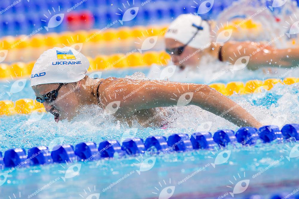 STEPANYUK Dar'ya UKR <br /> 100 Butterfly Women<br /> London, Queen Elizabeth II Olympic Park Pool <br /> LEN 2016 European Aquatics Elite Championships <br /> Swimming day 04 heats<br /> Day 11 19-05-2016<br /> Photo Giorgio Scala/Deepbluemedia/Insidefoto