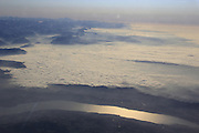 Über den Wolken. Ein FLug über die Alpen Richtung Kreta. © Romano P. Riedo | fototpunkt.ch