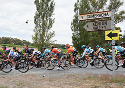 The peloton head to Gumeracha for the final time at Santos Women's Tour Down Under 2019 - Stage 1, a 112.9 km road race from Hahndorf to Birdwood, Australia on January 10, 2019. Photo by Sean Robinson/velofocus.com