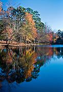 Fall Reflections at Petit Jean Arkansas