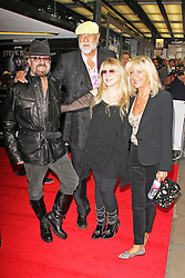 © Licensed to London News Pictures. 16/09/2013. Dave Stewart, Mick Fleetwood,Stevie Nicks, Christine McVie. Stevie Nicks: In Your Dreams - Screening, Curzon Mayfair, London UK, 16 September 2013. Photo credit : Brett D. Cove/Piqtured/LNP