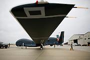 The US Air Force Global Hawk at Beale Air Force Base February 23, 2010 in Linda, Calif.