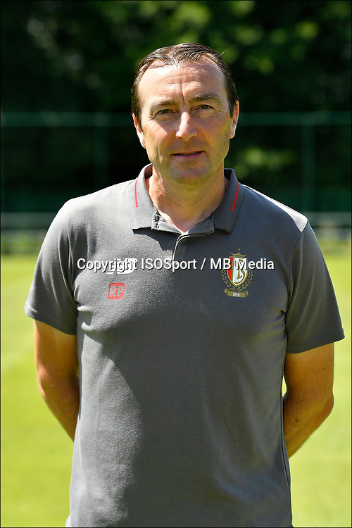 LIEGE, BELGIUM - JULY 10:  <br /> Renaat Philippaerts, physical coach of Standard, during the 2019 - 2020 season photo shoot of Standard de Liege on July 10, 2019 in Liege, Belgium. (Photo by Johan Eyckens/Isosport)