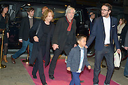"Arno and Nathalie Baye arriving for the presentation of the film ""Prejudice""  for the Opening Ceremony of the Festival International of Film Francophone in Namur in Belgium.  2 october 2015, Namur, Belgium"