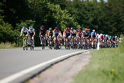 Attacks on the front of the bunch at Lotto Thüringen Ladies Tour 2019 - Stage 6, a 86 km road race in Altenburg, Germany on June 2, 2019. Photo by Sean Robinson/velofocus.com