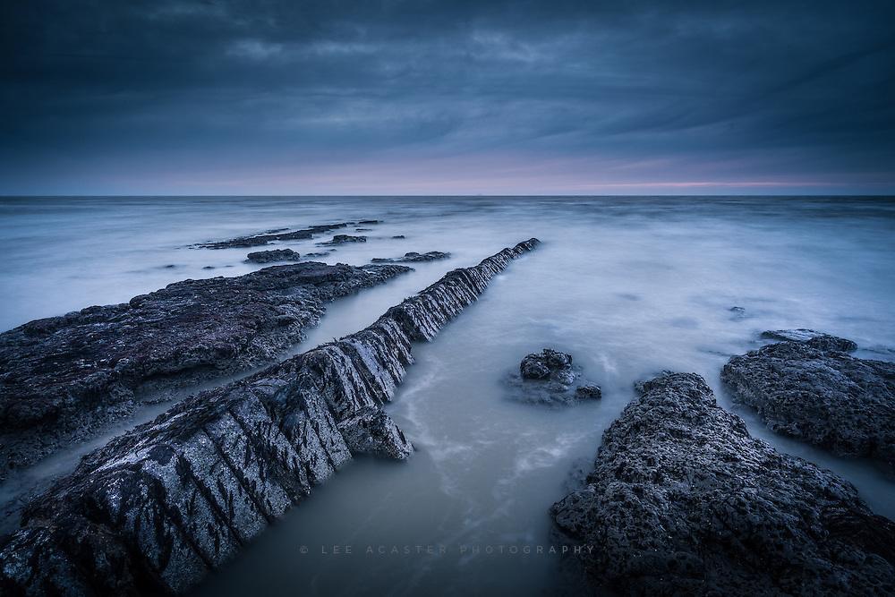Bawdsey Beach in Suffolk at Sunrise