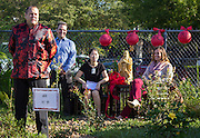 Dedication of the Confucius Garden at Kolter Elementary School, September 30, 2015.
