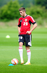 Bristol City's Wes Burns - Photo mandatory by-line: Dougie Allward/JMP - Tel: Mobile: 07966 386802 27/06/2013 - SPORT - FOOTBALL - Bristol -  Bristol City - Pre Season Training - Npower League One