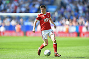 Nottingham Forest forward Joe Lolley (23) during the EFL Sky Bet Championship match between Bolton Wanderers and Nottingham Forest at the Macron Stadium, Bolton, England on 6 May 2018. Picture by Jon Hobley.