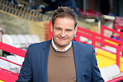 AFC Wimbledon manager Neal Ardley walking to pitch during the EFL Sky Bet League 1 match between AFC Wimbledon and Oxford United at the Cherry Red Records Stadium, Kingston, England on 14 January 2017. Photo by Matthew Redman.