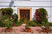 Mediterranean streets, javea, alicante
