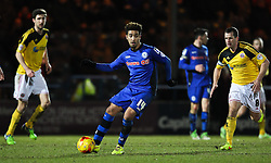 Rochdale's Bastien Hery in action - Photo mandatory by-line: Matt McNulty/JMP - Mobile: 07966 386802 - 24/02/2015 - SPORT - Football - Rochdale - Spotland Stadium - Rochdale v Sheffield United - Sky Bet League One