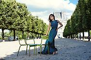 Rencontre avec la blogueuse de mode Fernanda Delchot habillée par la Créatrice Styliste Tina Lobondi