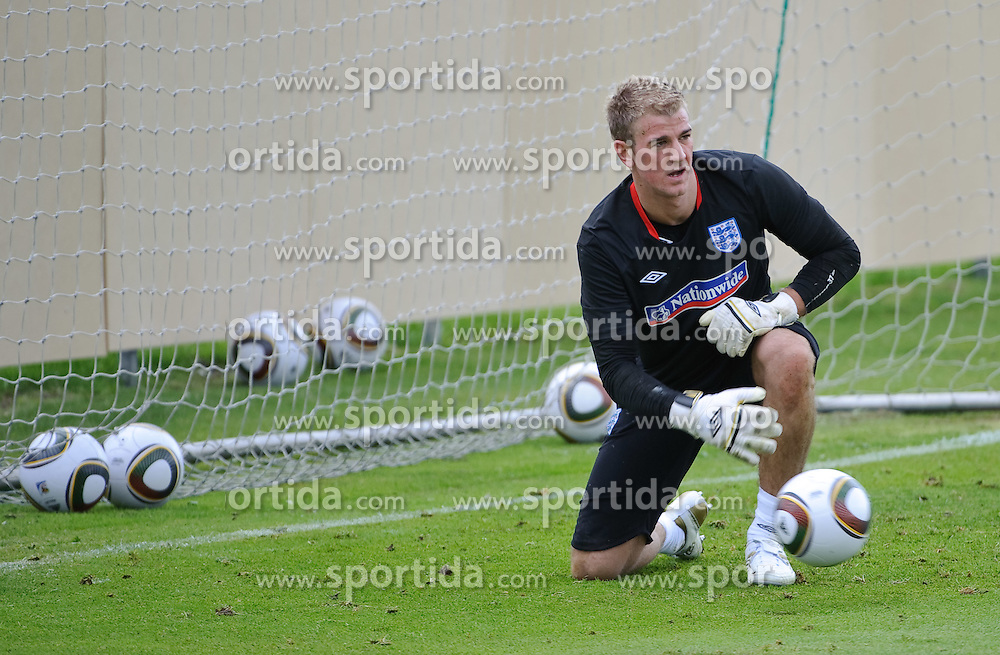 19.05.2010, Arena, Irdning, AUT, FIFA Worldcup Vorbereitung, Training England, im Bild Joe Hart (Birmingham City), EXPA Pictures © 2010, PhotoCredit: EXPA/ S. Zangrando / SPORTIDA PHOTO AGENCY