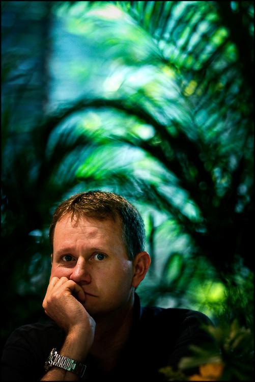 PORTRAITS / RETRATOS<br /> <br /> Leonardo Wild<br /> Ensayista Norteamericano<br /> Caracas - Venezuela 2008<br /> <br /> (Copyright &copy; Aaron Sosa)