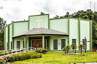 Igreja Matriz. Sul Brasil, Santa Catarina, Brasil. / Mother Church. Sul Brasil, Santa Catarina, Brazil.