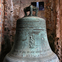St. Peter&rsquo;s Church Bell in Rostock, Germany <br />