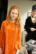 HELENA BARLOW; ALEXIA WIGHT;, Isabella Blow: Fashion Galore! private view, Somerset House. London. 19 November 2013