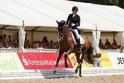 Schneider Dorothee, (GER), Stanford 9<br /> Final 6 years old horses<br /> World Championship Young Dressage Horses - Verden 2015<br /> © Hippo Foto - Dirk Caremans<br /> 09/08/15