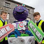21.02.2017      <br /> Team Limerick Clean-Up is inviting the people of Limerick to get involved in an exciting competition to &lsquo;Name the TLC3 Litter Monster&rsquo;. Paul O&rsquo;Connell was joined by pupils from Bruree National School and representatives from the JP McManus Benevolent Fund at the Hunt Museum to announce details of the competition. <br /> <br /> Attending the event and helping launch the initiative were pupils from Bruree National School, Niall Tobin, 11 and Daniel Scully, 12. Picture: Alan Place