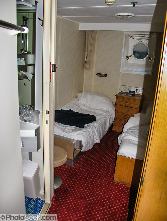 The small cabin which hosted our stay on the M/S Explorer in 2005 now lies sunk 600 meters deep in the Southern Ocean. The M/S Explorer sank after hitting an iceberg in 2007: Two and a half years after our successful trip, the Explorer, owned by Canadian travel company G.A.P. Adventures, took on water after hitting ice at 12:24 a.m. EST on Friday November 23, 2007. 154 passengers and crew calmly climbed into lifeboats and drifted some six hours in calm waters. A Norwegian passenger boat rescued and took them to Chile's Antarctic Eduardo Frei base, where they were fed, clothed, checked by a doctor, and later flown to Punta Arenas, Chile. The ship sank hours after the passengers and crew were evacuated.