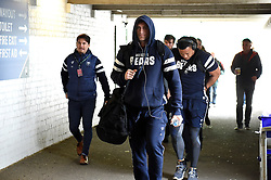 Bristol Bears arrive at Welford Road - Mandatory byline: Patrick Khachfe/JMP - 07966 386802 - 27/04/2019 - RUGBY UNION - Welford Road - Leicester, England - Leicester Tigers v Bristol Bears - Gallagher Premiership Rugby