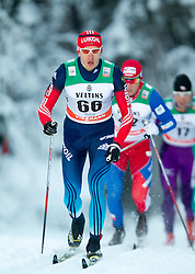 30.11.2014, Nordic Arena, Ruka, FIN, FIS Weltcup Langlauf, Kuusamo, 15 km Herren, im Bild Stanislav Volzhentsev (RUS) // Stanislav Volzhentsev of Russia during Mens 15 km Cross Country Race of FIS Nordic Combined World Cup at the Nordic Arena in Ruka, Finland on 2014/11/30. EXPA Pictures © 2014, PhotoCredit: EXPA/ JFK