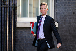 © Licensed to London News Pictures. 17/07/2018. London, UK. Secretary of State for Culture, Media and Sport Jeremy Wright QC arrives on Downing Street for the Cabinet meeting. Photo credit: Rob Pinney/LNP