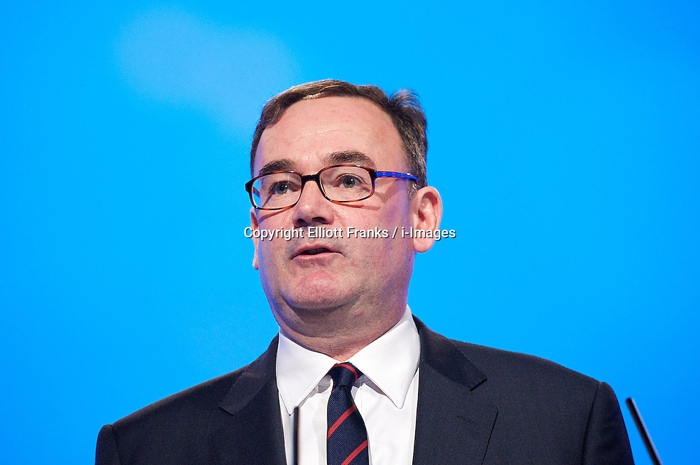 Jon Cruddas during the Labour Party Annual Conference in Manchester, Great Britain, September 30, 2012. Photo by Elliott Franks / i-Images.