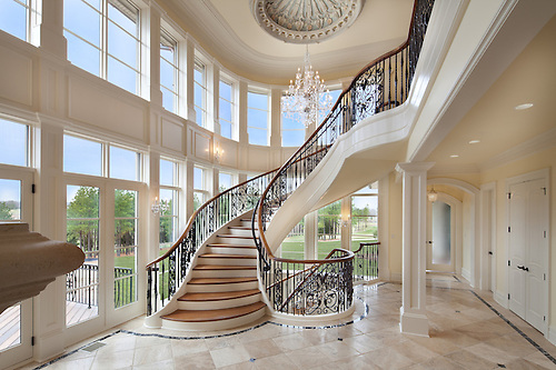 Ordinaire 22591 Creighton Farms Road Mansion And Flying Staircase Builder Creighton  Enterprises, Inc.