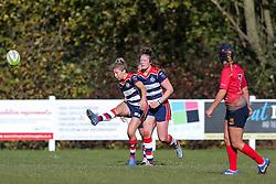 Elinor Snowsill of Bristol Ladies - Rogan Thomson/JMP - 16/10/2016 - RUGBY UNION - Cleve RFC - Bristol, England - Bristol Ladies Rugby v Lichfield Ladies - RFU Women's Premiership.