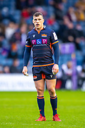 Mark Bennett (#13) of Edinburgh Rugby during the European Rugby Challenge Cup match between Edinburgh Rugby and SU Agen at BT Murrayfield, Edinburgh, Scotland on 18 January 2020.