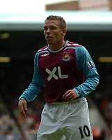 Photo: Tony Oudot. <br /> West Ham United v Manchester City. Barclays Premiership. 11/08/2007. <br /> Craig Bellamy of West Ham