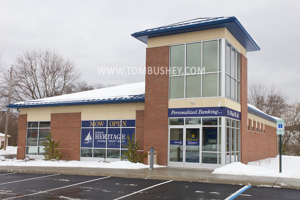 Middletown, New York - The Hudson Heritage Federal Credit Union branch on Dolson Avenue.