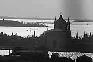 Italy. Venice elevated view. view from San Stefano bell tower  / Vue depuis le clocher de san Stefano
