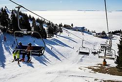 Krvavec SKI Resort, on December 21, 2016 in Krvavec, Slovenia. Photo by Vid Ponikvar / Sportida