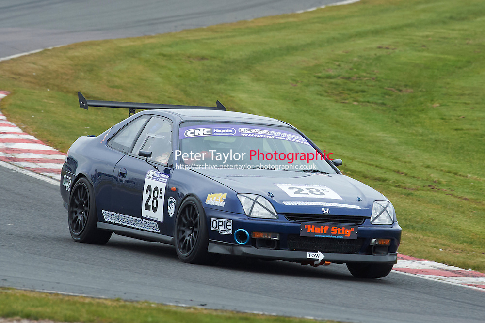 #28 Jason HENNEFER Honda Prelude 2200 during CNC Heads Sports / Saloon Championship as part of the BARC NW - Championship Raceday  at Oulton Park, Little Budworth, Cheshire, United Kingdom. March 19 2016. World Copyright Peter Taylor/PSP. Copy of publication required for printed pictures.  Every used picture is fee-liable. http://archive.petertaylor-photographic.co.uk