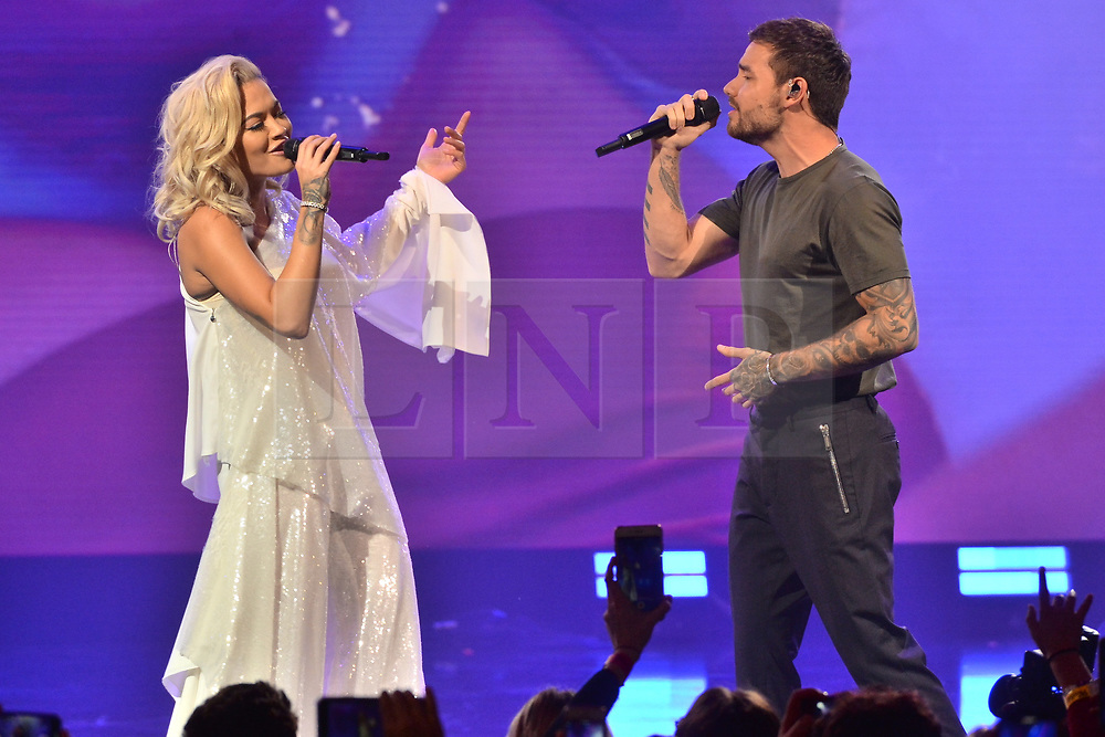 © Licensed to London News Pictures. 30/10/2018. London, UK. RITA ORA  and LIAM PAYNE attends the Westfield London 10th Anniversary Celebrations. Photo credit: Ray Tang/LNP