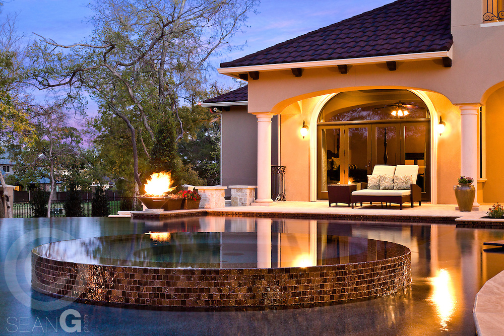 Pool by Stonecrest Pools at private residence in Mansfield, Texas