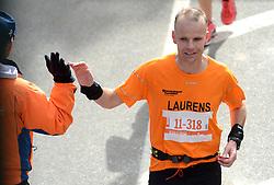 03-11-2013 ALGEMEEN: BVDGF NY MARATHON: NEW YORK <br /> De NY marathon werd weer een groot succes voor de BvdGf. Alle lopers hebben met prachtige tijden de finish gehaald / Laurens finisht in 3:17:43<br /> ©2013-FotoHoogendoorn.nl
