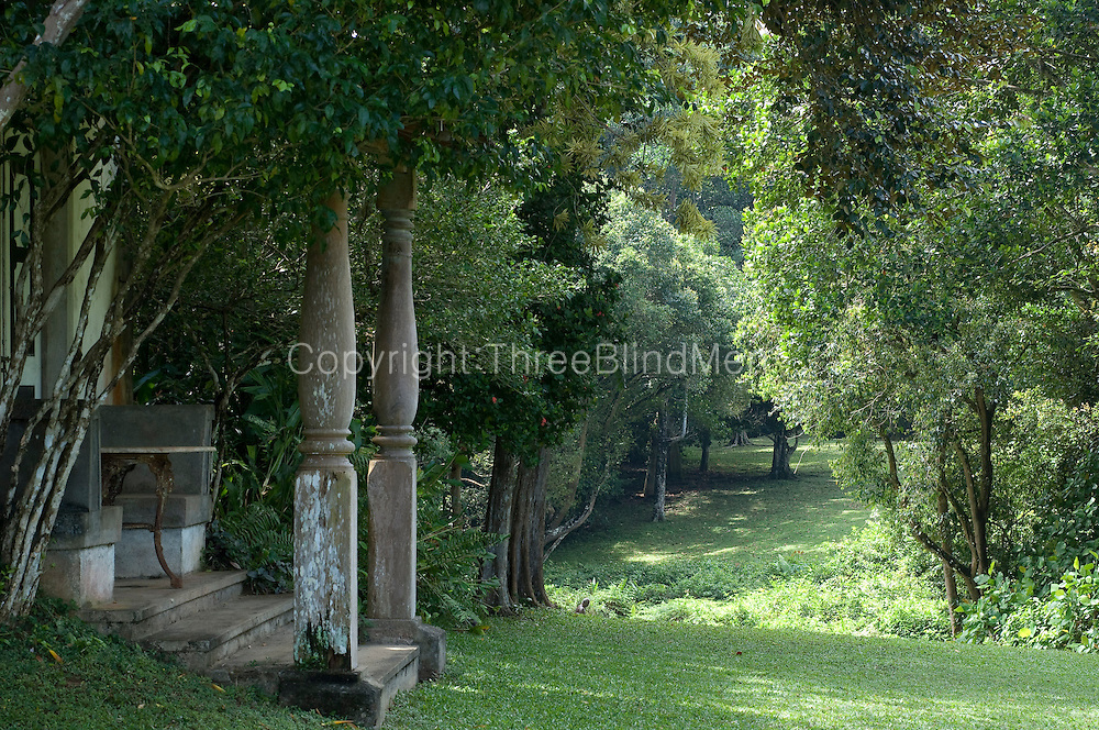 The West Verandah - a view to the South.<br />