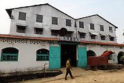 Tea factory, Sylhet Division, near Srimangal (Bangladesh).