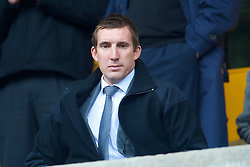 WOLVERHAMPTON, ENGLAND - Saturday, March 27, 2010: Everton's Alan Stubbs during the Premiership match at Molineux. (Photo by David Rawcliffe/Propaganda)
