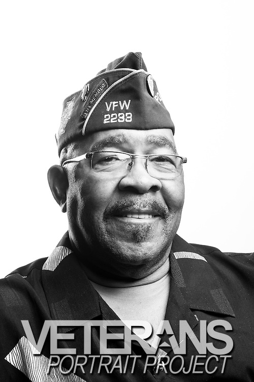 Isaac Blair<br /> Army<br /> Spec. 4<br /> Radio Teletype<br /> Feb. 20, 1969 - Oct. 21, 1970<br /> Vietnam<br /> <br /> Veterans Portrait Project<br /> St. Louis, MO